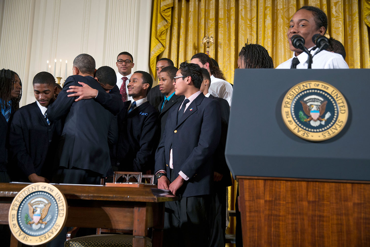 President Obama speaks on My Brother's Keeper