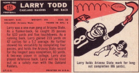 larry todd card